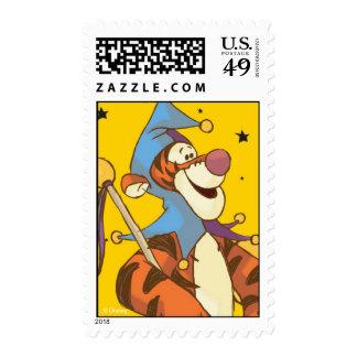 Pooh Tigger Halloween Postage Stamps