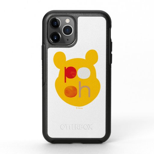 Pooh | Watercolor Big Head OtterBox Symmetry iPhone 11 Pro Case