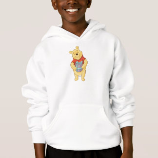 Pooh With Gift Hoodie
