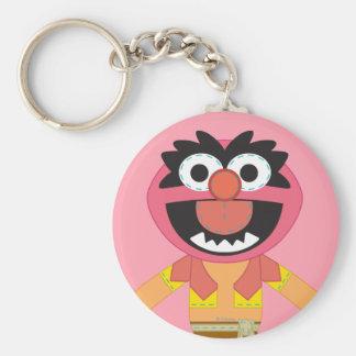 Pook-a-Looz Animal Basic Round Button Keychain