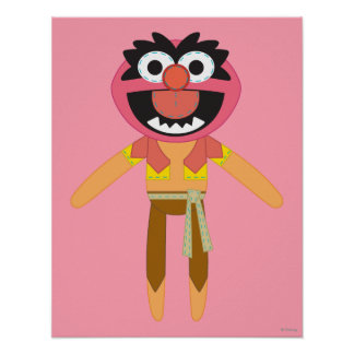 Pook-a-Looz Animal Poster