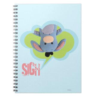 Pook-a-Looz Eeyore 3 Notebook