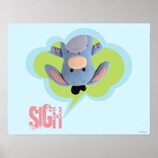 Pook-a-Looz Eeyore 3 Poster