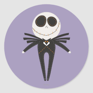 Pook-a-Looz Jack Skellington Classic Round Sticker