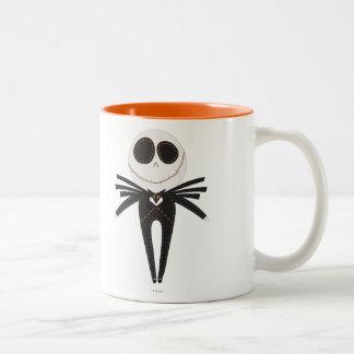 Pook-a-Looz Jack Skellington Two-Tone Coffee Mug