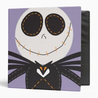 Pook-a-Looz Jack Skellington Vinyl Binder