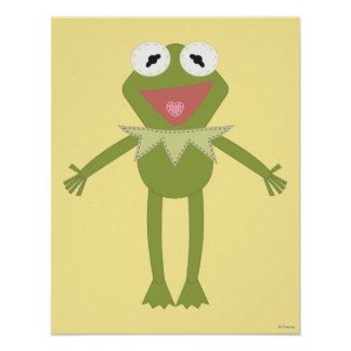 Pook-a-Looz Kermit la rana Póster
