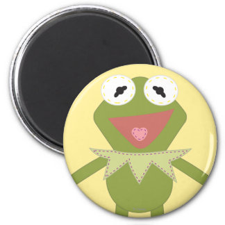 Pook-a-Looz Kermit the Frog 2 Inch Round Magnet