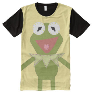Pook-a-Looz Kermit the Frog All-Over Print T-shirt