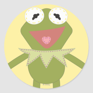 Pook-a-Looz Kermit the Frog Classic Round Sticker