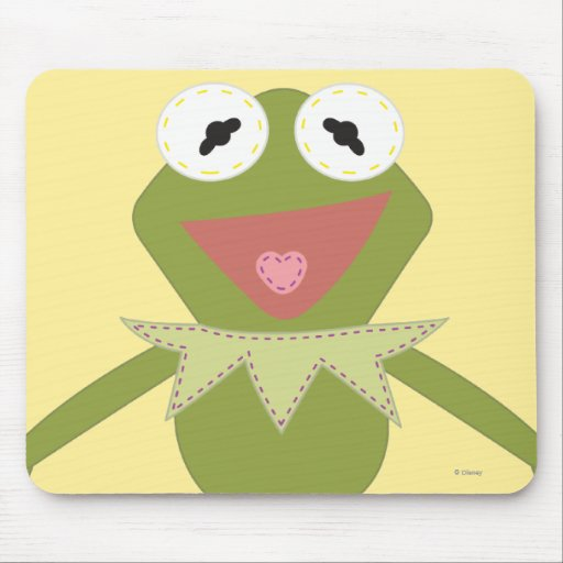 Pook-a-Looz Kermit the Frog Mouse Pad