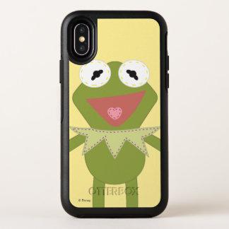 Pook-a-Looz Kermit the Frog OtterBox Symmetry iPhone X Case