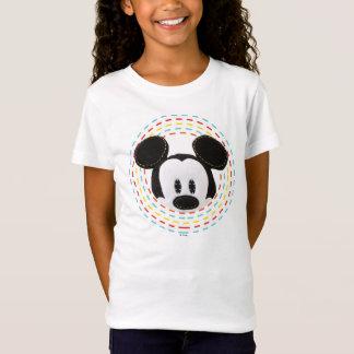 Pook-a-Looz Mickey | Peeking Circle T-Shirt