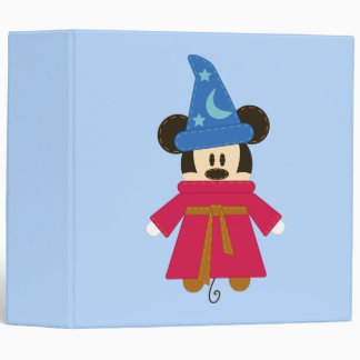 Pook-a-Looz Mickey | Sorcerer's Hat 3 Ring Binder