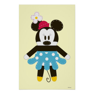 Pook-a-Looz Minnie | Blue Dress Poster