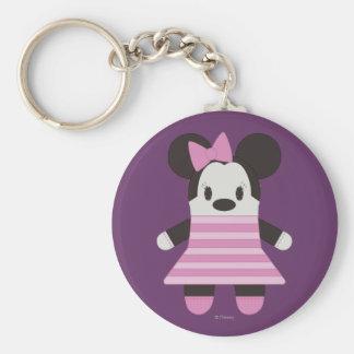 Pook-a-Looz Minnie Mouse 1 Llavero Redondo Tipo Pin