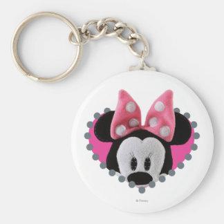 Pook-a-Looz Minnie   Peeking Keychain