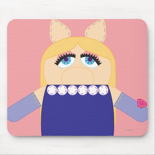Pook-a-Looz Miss Piggy Mousepads