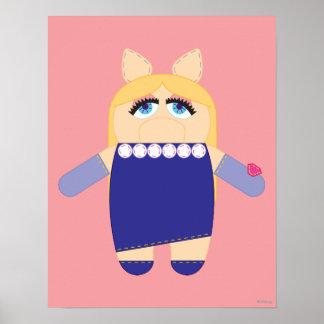 Pook-a-Looz Miss Piggy Poster