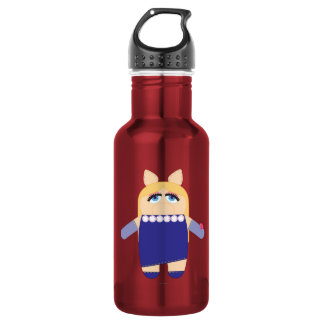 Pook-a-Looz Miss Piggy Stainless Steel Water Bottle