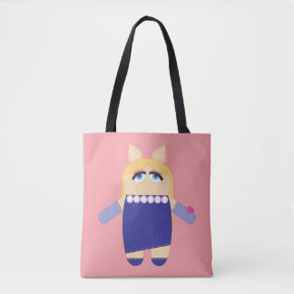 Pook-a-Looz Miss Piggy Tote Bag