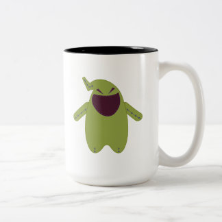 Pook-a-Looz Oogie Boogie Two-Tone Coffee Mug