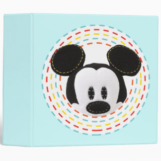 Pook-a-Looz Peeking Mickey Mouse 1 Vinyl Binders