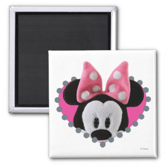 Pook-a-Looz Peeking Minnie Mouse Refrigerator Magnet