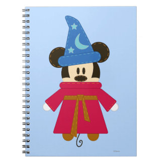 Pook-a-Looz Sorcerer Mickey Mouse Spiral Note Books