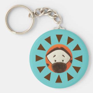 Pook-a-Looz Tigger Peeking Keychain
