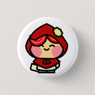 Pookah Red Riding Hood Button