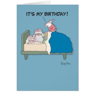 POOKIE BIRTHDAY CARD