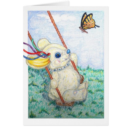 POOKY SWING GREETING CARDS