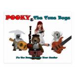 pooky y el tono bugs-1-1 tarjetas postales