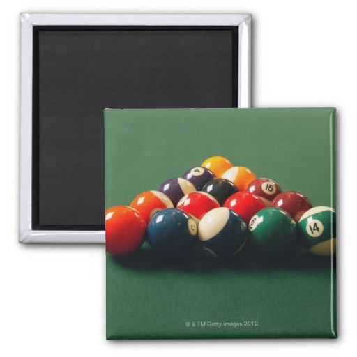 Pool 2 Inch Square Magnet
