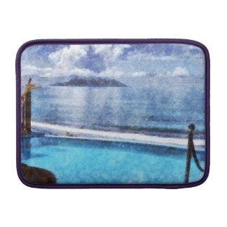 Pool and ocean sleeve for MacBook air