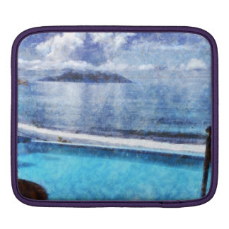 Pool and ocean sleeves for iPads