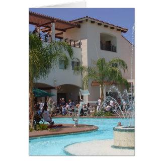 Pool At Defcon Card