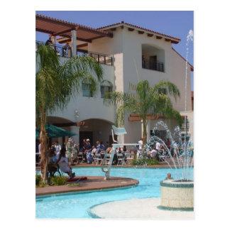 Pool At Defcon Postcard