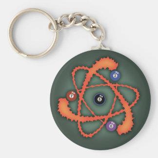 Pool Atom II Keychain