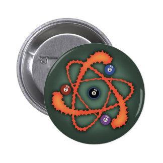 Pool Atom II Pinback Button