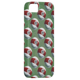 Pool Ball 15 Pattern iPhone SE/5/5s Case