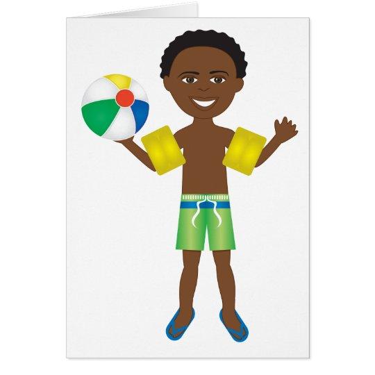 Pool Ball Boy Card