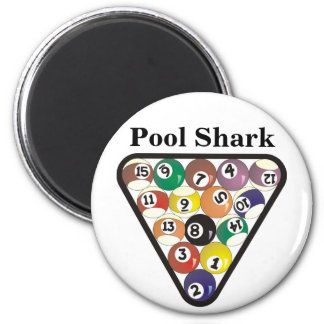 Pool Ball Rack 2 Inch Round Magnet