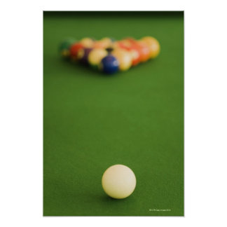Pool Balls 3 Poster