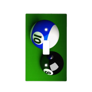 POOL BALLS 3D LIGHT SWITCH COVER