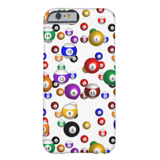 Pool Balls Barely There iPhone 6 Case