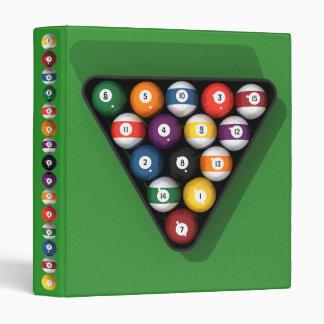 Pool Balls / Billiards: Custom Binder