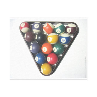 Pool Balls Canvas
