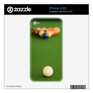 Pool Balls Decals For The iPhone 4S